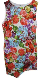 Other short dress Small Stretchy Tropical Botanical on Tradesy