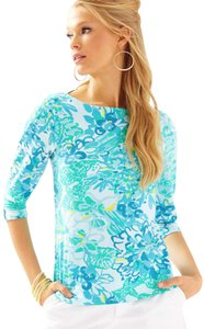 Lilly Pulitzer T Shirt Resort White In A Pinch