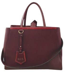 Fendi Tote in Burgundy