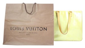 Louis Vuitton Luco Neverfull Colombus Vandam Tote in green