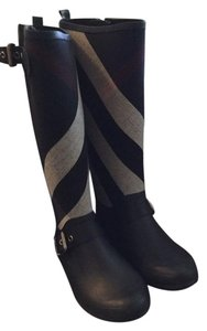 Burberry Rain Boots navy Boots