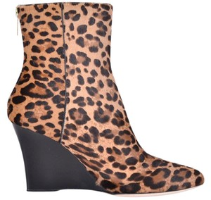 Jimmy Choo Wedge Heels Multi-Color Boots