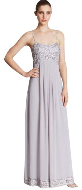 Item - Gray Strapless Gown Formal Dress Size 6 (S)