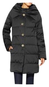 Kate Spade Bow Funnel Puffer Coat
