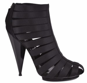 Gucci Gladiator Sandals Black Boots