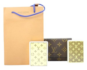 Louis Vuitton ( ULTRA RARE ) 1985 Playing Cards Set w/ Case 215662