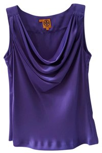 Tory Burch Draped Top Purple