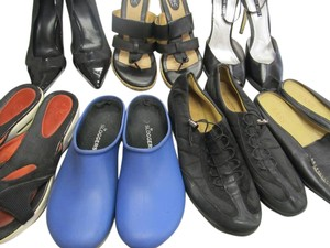 Naturalizer BLACK BLUE Flats