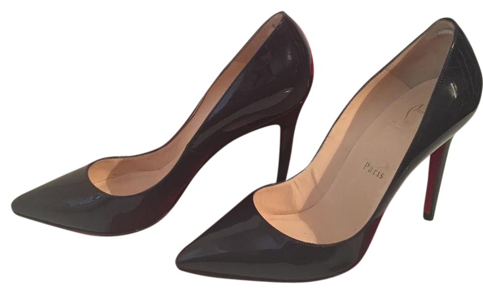 dbbf6f3c5cf4 Christian Louboutin Purple Pigalle 100 Patent Leather 39 - 8.5 Pumps. Size  US  8 Regular (M ...