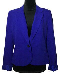 Worthington blue / purple Blazer