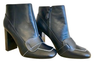 Tory Burch Bond Ankle Navy Blue Boots