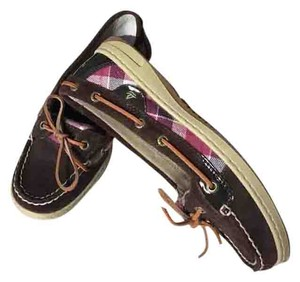 Sperry Leather Suede Flats