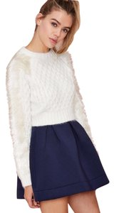 Three Floor Nasty Gal Cropped Angora Faux Fur Sweater