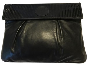 Fendi Handbag Brown Vintage Black Clutch