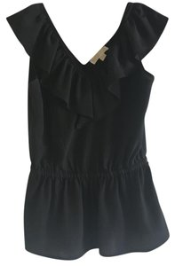 Michael Kors Ruffles !ichael Kors Top Black