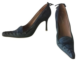Miss Sixty Denim with Black laces Pumps