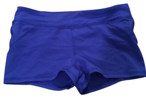 Forever 21 blue athletic shorts small zipper pocket