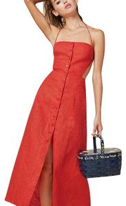 Bloody Red Maxi Dress by Reformation