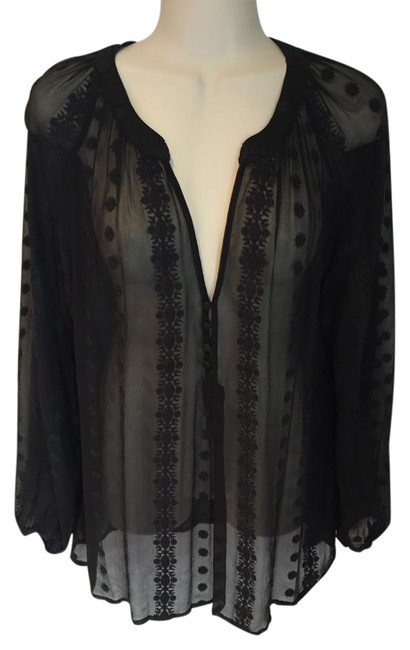 Item - Black Almost New Blouse Size 8 (M)
