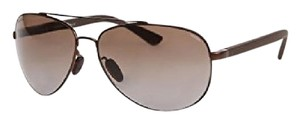 Gucci NEW Gucci GG 2266/S Brown Aviator Polarized Sunglasses