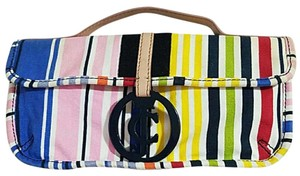 Juicy Couture Stripes Clutch