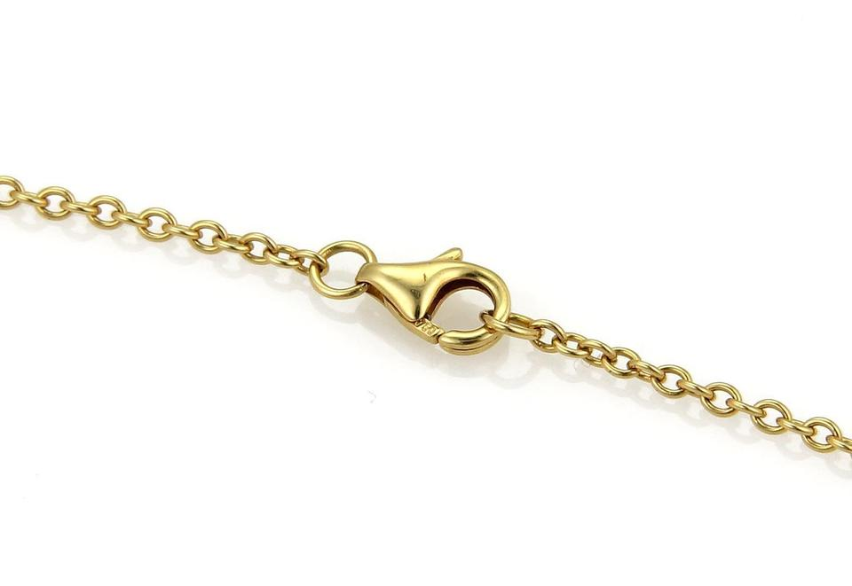 2afdc561969e7 Cartier Yellow Gold Love Double Infinity Mini Ring Pendant 18k Necklace
