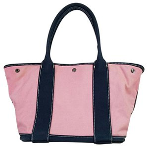 J.Crew Tote in Pink & blue