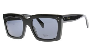 Cline NEW Celine 41800 Black Oversized Sunglasses