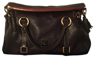 Dooney & Bourke Satchel in Tmoro Brown (Dark Chocolate)