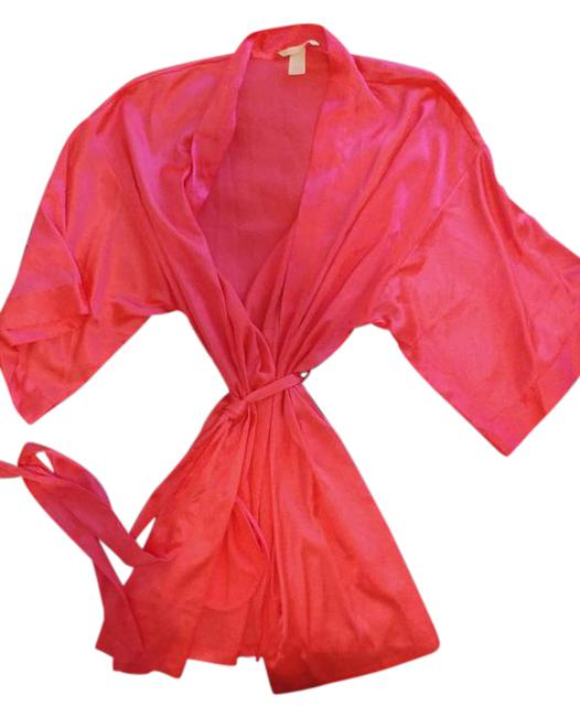 Item - Hot Pink Silk Robe/Cover-up Cover-up/Sarong Size 10 (M)