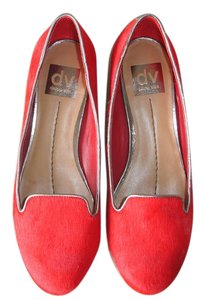 Dolce Vita Haircalf Loafer red Flats