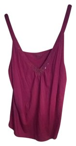 New York & Company Cotton Top pink