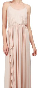 """BARE"" Nude, Cream, Light Pink Maxi Dress by Rachel Pally"