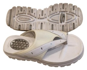 Skechers Slip-on Comfortable Sparkle White Sandals
