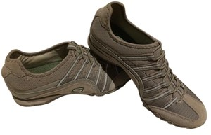 Skechers Slip-on Comfortable Sparkle Taupe/Olive Athletic