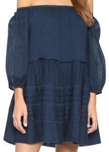 Free People short dress Midnight Blue Candy Shop Off The Mini on Tradesy