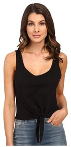 Splendid Coachella Festival Tank Revolve Summer Top Black