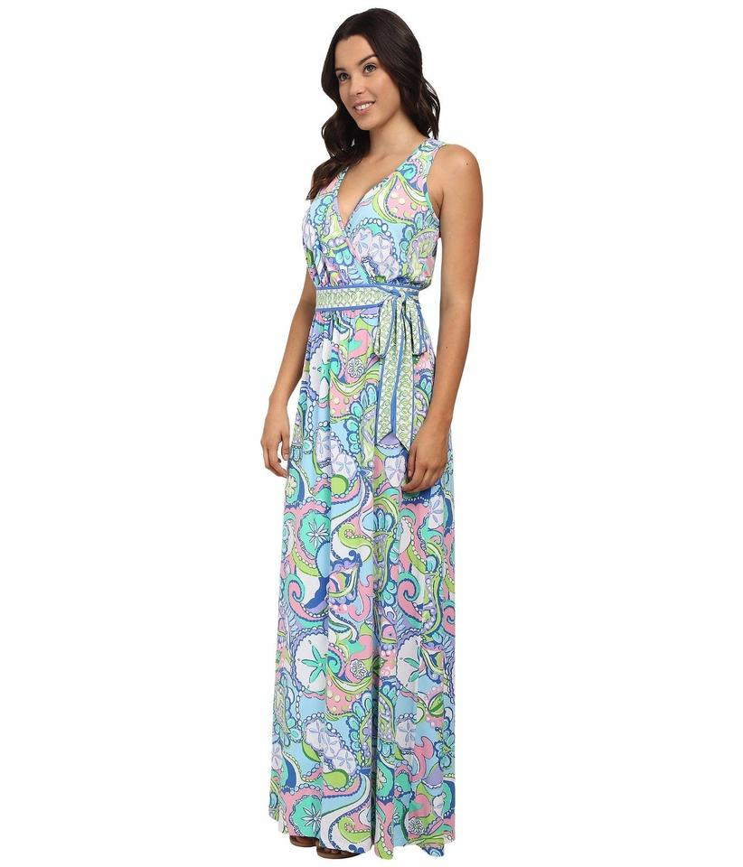 Lilly Pulitzer Conch Republic Bellina Wrap Long Casual