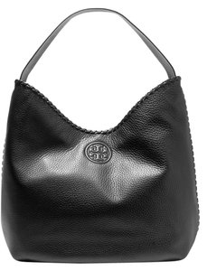 Tory Burch Leather Pockets Zipped Handbag Shoulder Bag