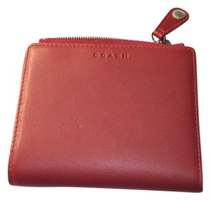 Coach Coach Leather Bifold Wallet