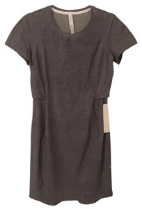 Lululemon short dress Heathered Grey Upf Short Travel on Tradesy
