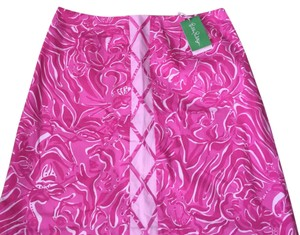Lilly Pulitzer Skirt pink,white