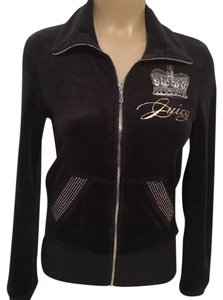 Juicy Couture Embellished Sequin Velour Jacket
