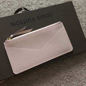 Louis Vuitton Rose ballerine pouchette card holder Jeanne
