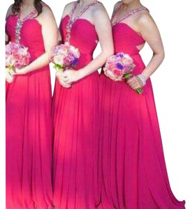 Fuchsia Maxi Dress by Other