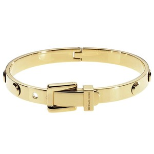 Michael Kors NWT GOLD ASTOR STUD BUCKLE BANGLE BRACELET MKJ1819710