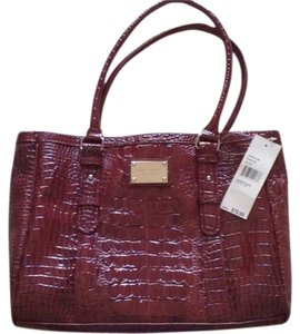Nine West Tote in Dark Red