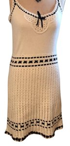 Cynthia Steffe short dress cream on Tradesy