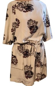 Juicy Couture short dress cream floral on Tradesy