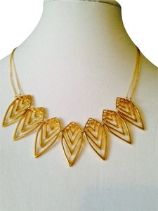 Jules Smith Nature Two-Strand Gold Necklace